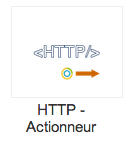 Actionneur HTTP Eedomus