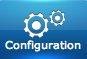 "Bouton du menu ""Configuration"" du Home Center de Fibaro"