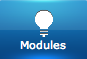 "Bouton du menu ""Modules"" du Home Center de Fibaro"